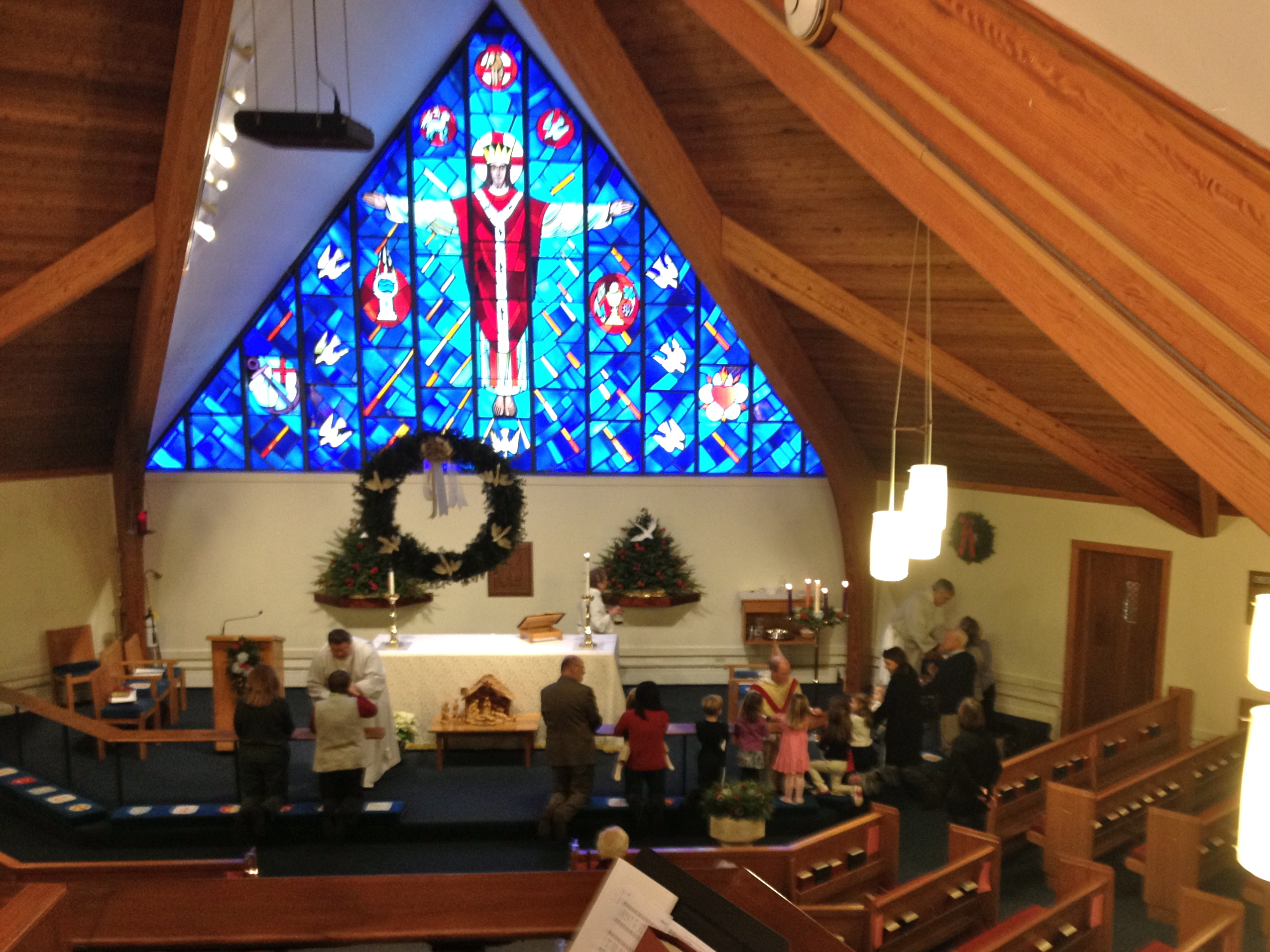 Children's Christmas Communion